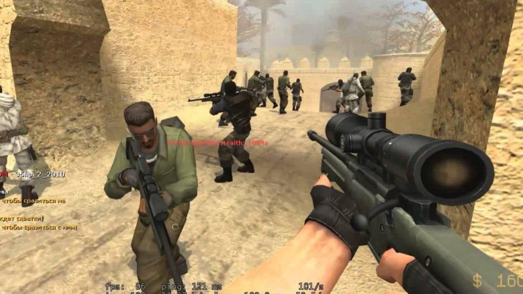 Мод JailBreak в Counter-Strike