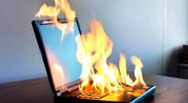 Компьютер и пожарная безопасность