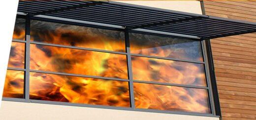 Какой материал противопожарных окон самый противопожарный